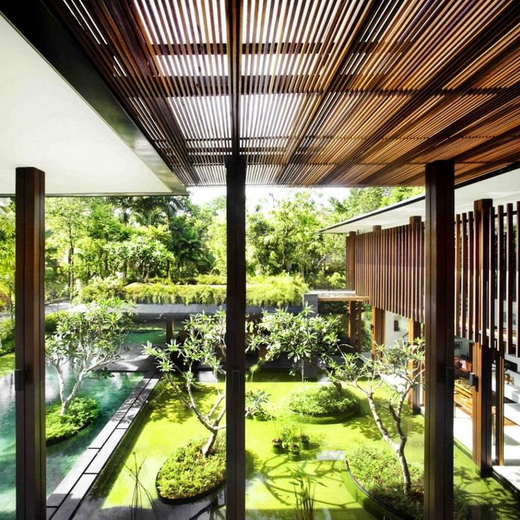 The Sun House / Nhà ở Singapore